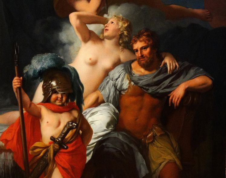 ODYSSEUS AND CALYPSO WITH THE GOOD HAIR. PHOTO 12GETTY IMAGES