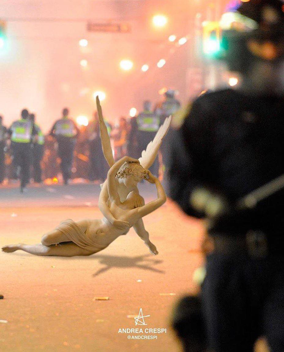 You'll need to suffer to make any real art. — Chuck Palahniuk Artist: @andcrespi