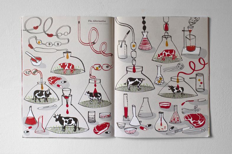 Marie Assenat / Meatpaper