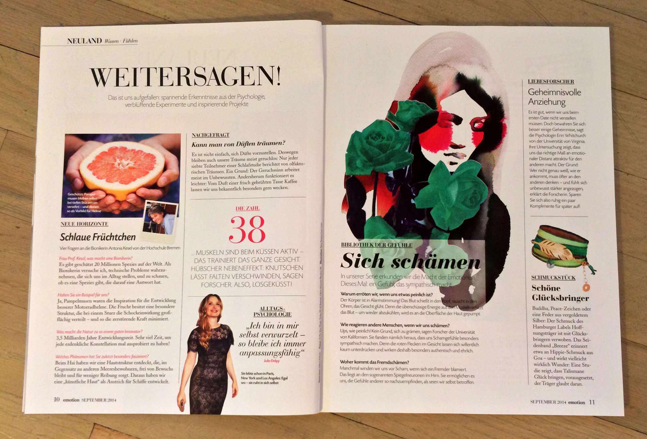 Stina Persson / EMOTION