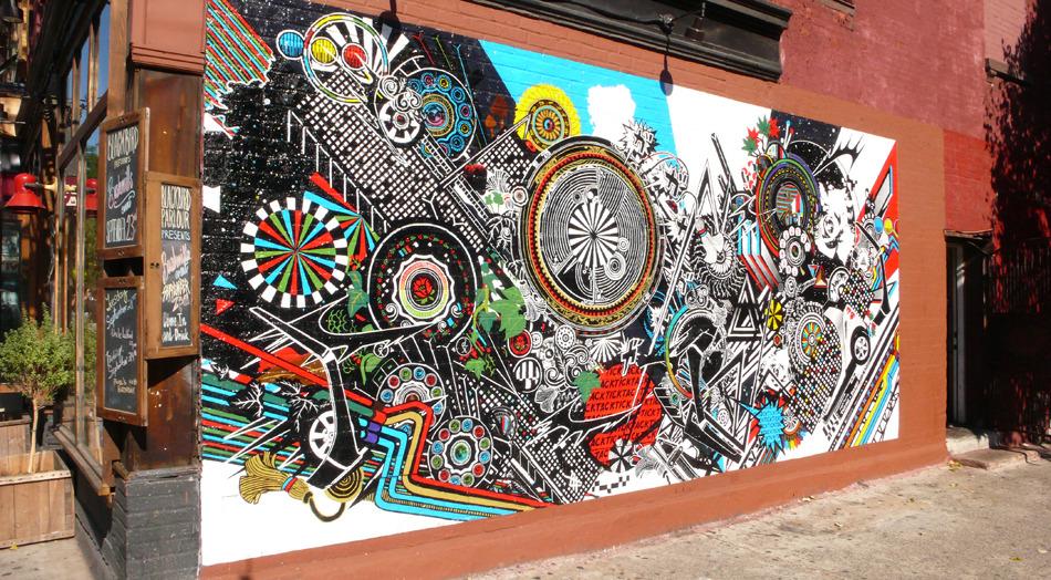 Kenzo Minami / SMART Car Mural, Brooklyn