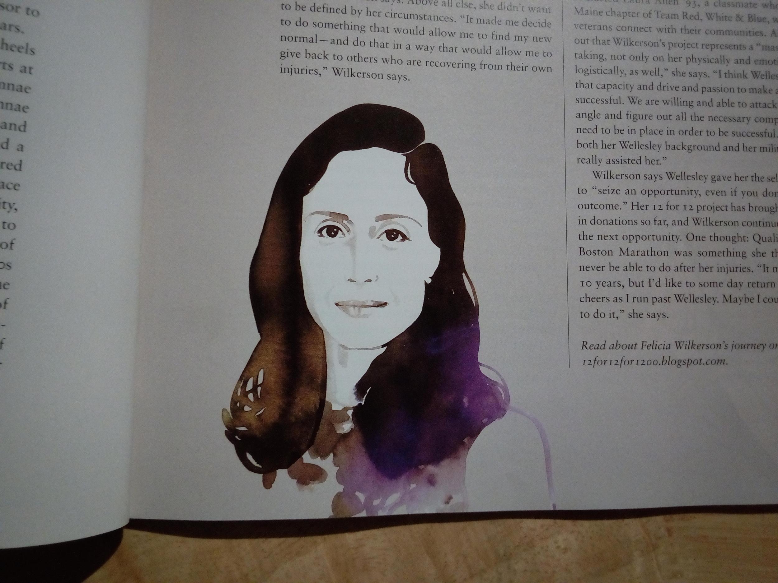 Tina Berning / Wellesley Magazine