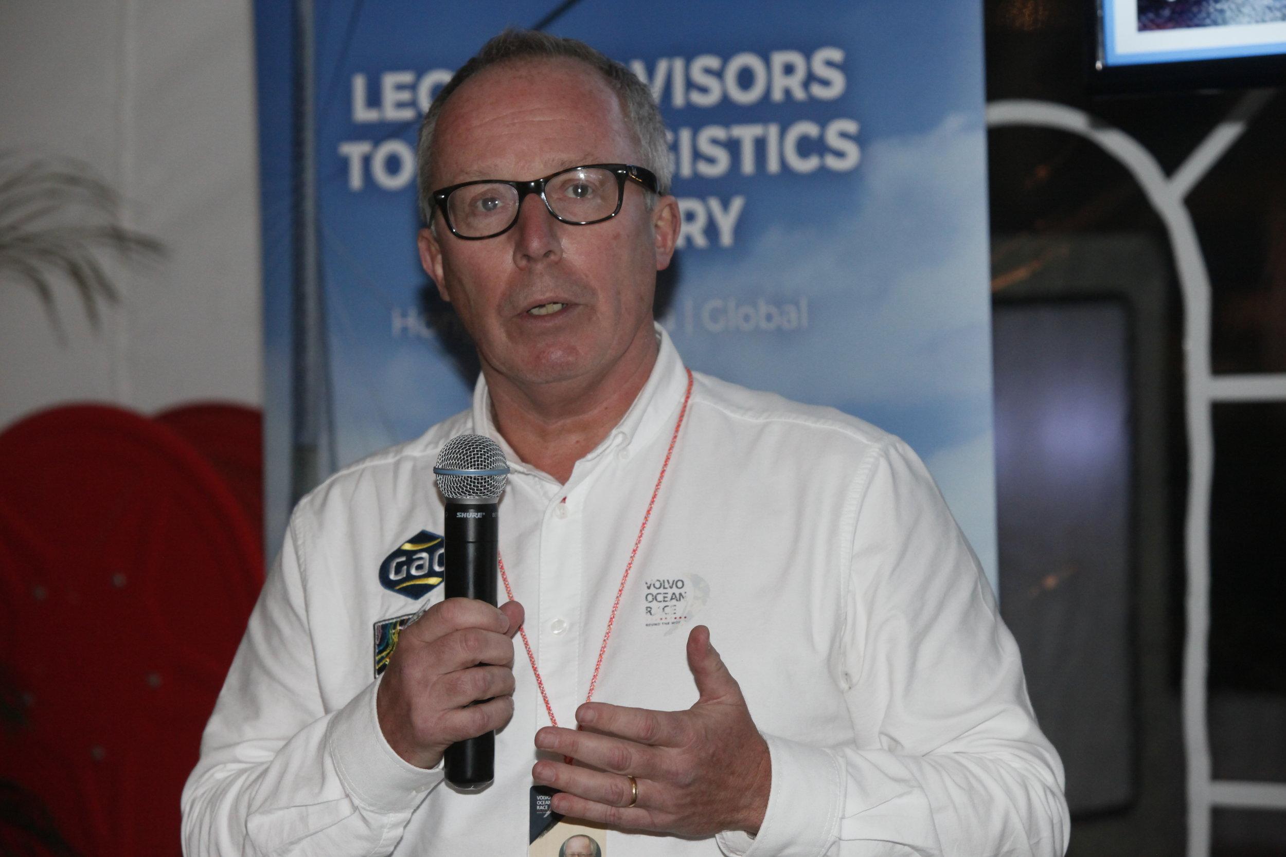 Guest Speaker - Andrew Pindar, OBE DL, Volvo Race Ambassador