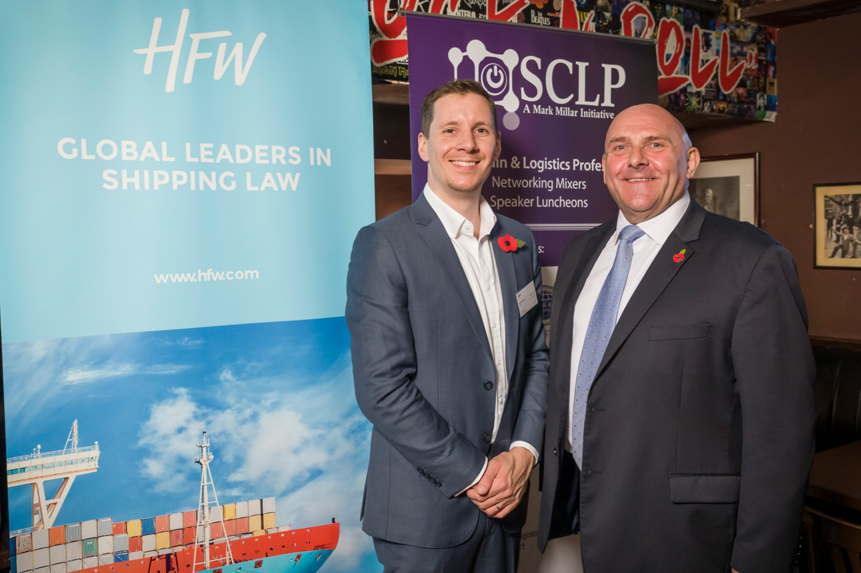 Edward Beeley, Solicitor Registered Foreign Lawyer, HFW with Mark Millar
