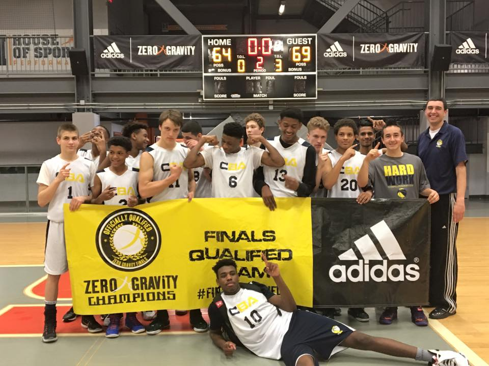 Connecticut Basketball Academy 16u team wins their second straight AAU Basketball Tournament.