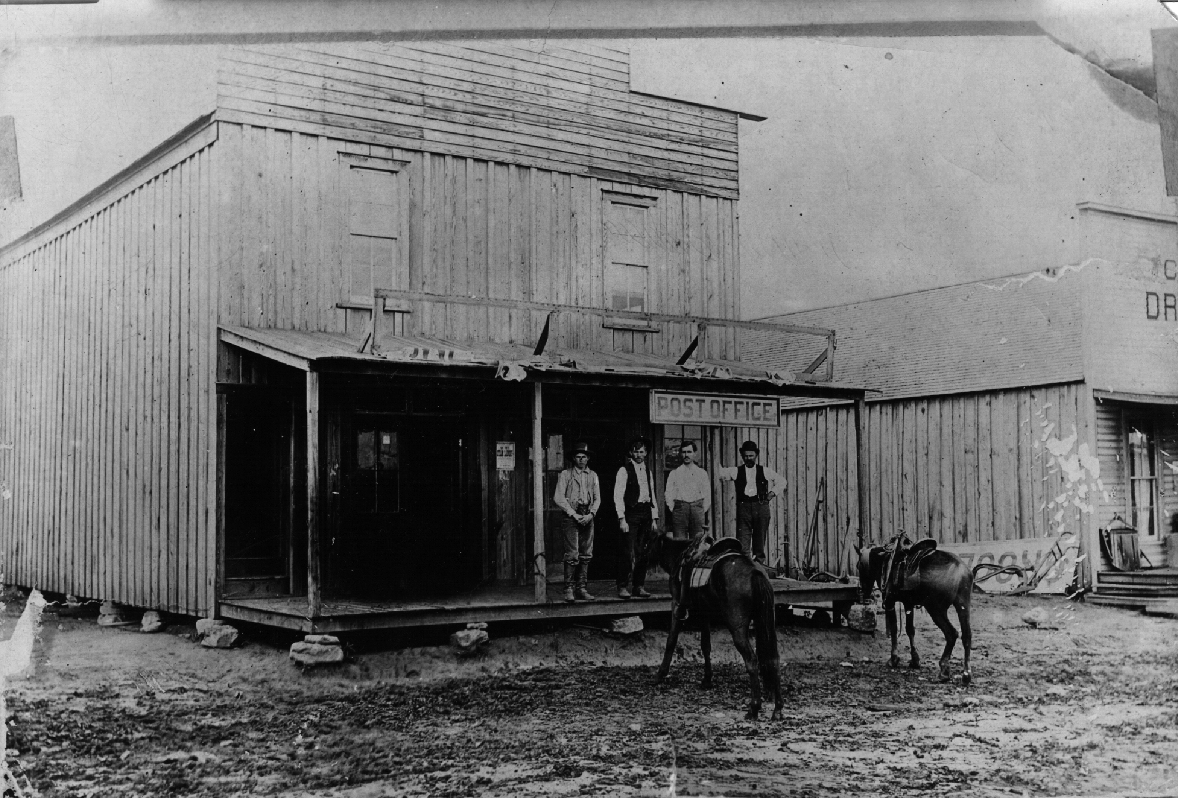 Sweetwater's First Post Office