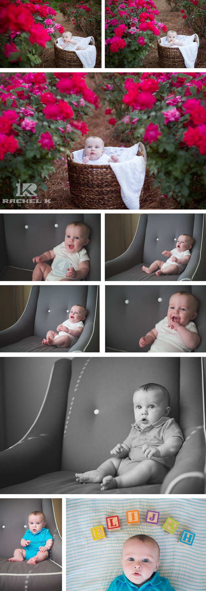 Knoxville photographer Elijah 4 months old