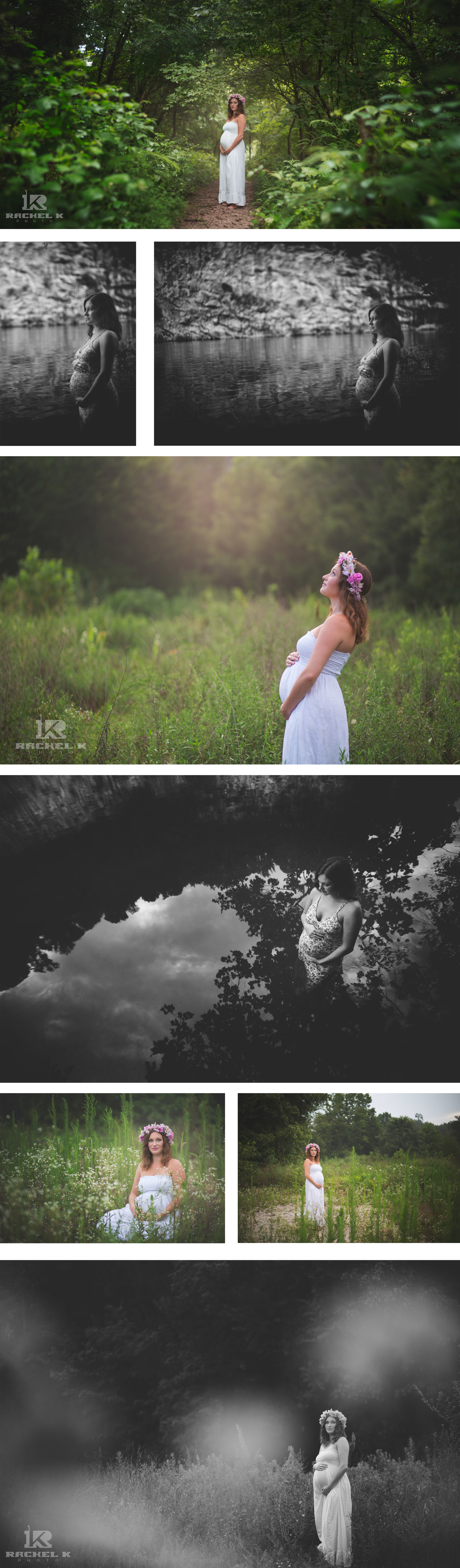 Knoxville outdoor maternity session by Rachel K Photo