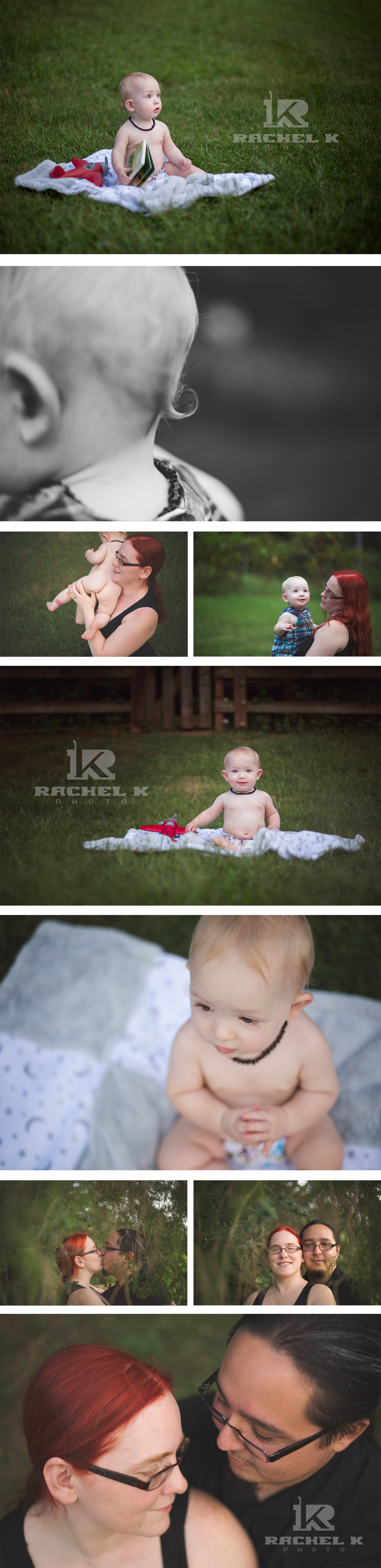 Sebastian's one year session in Knoxville by RachelKPhoto