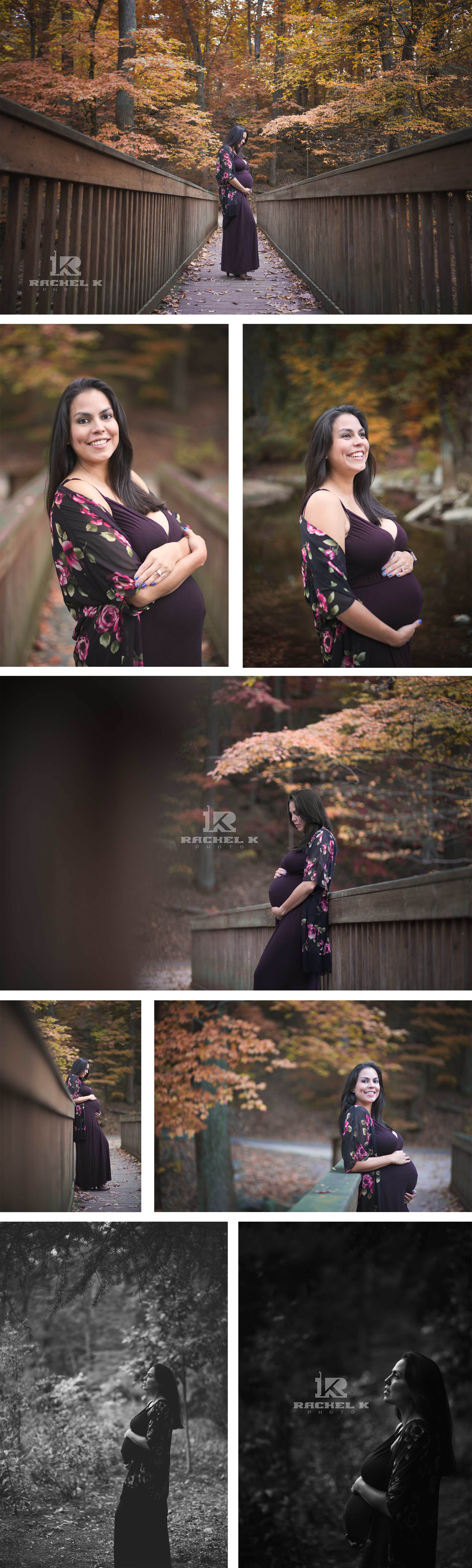 Northern Virginia outdoor maternity session
