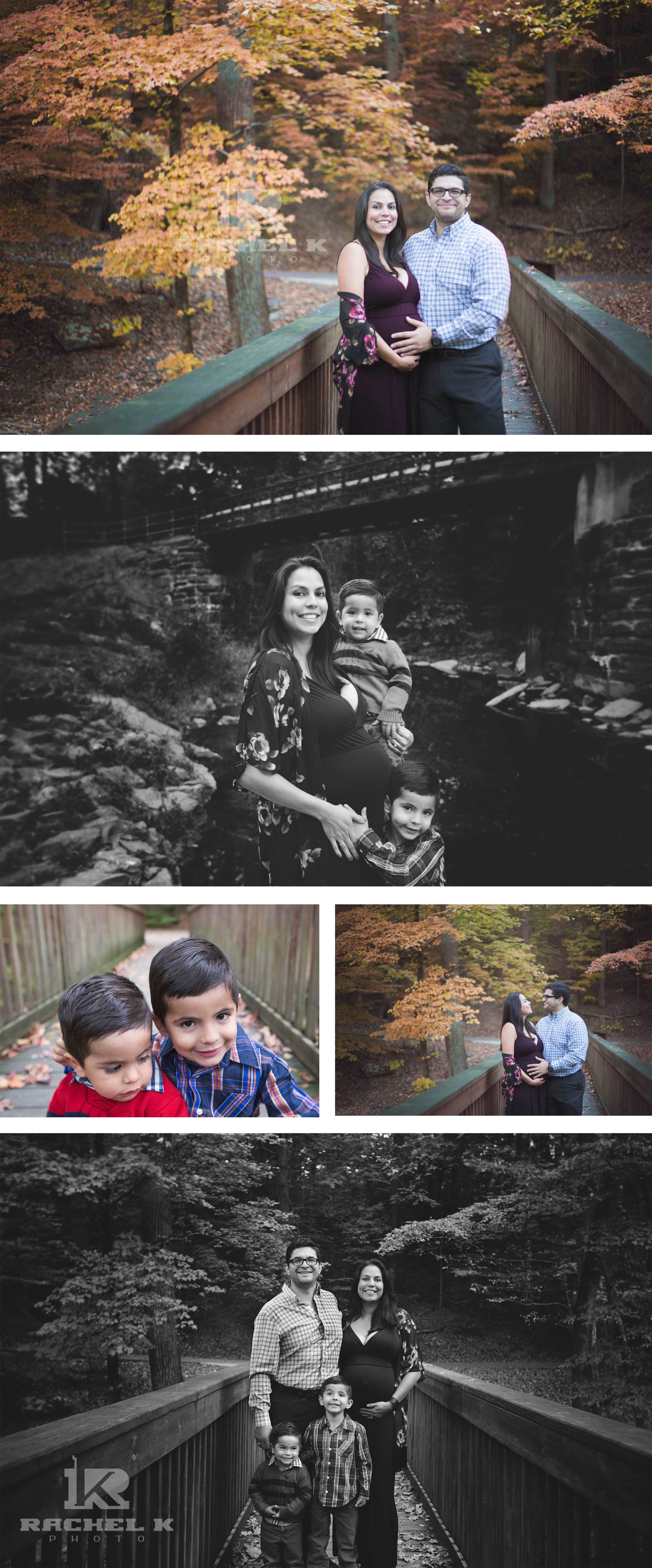 Northern Virginia family maternity session