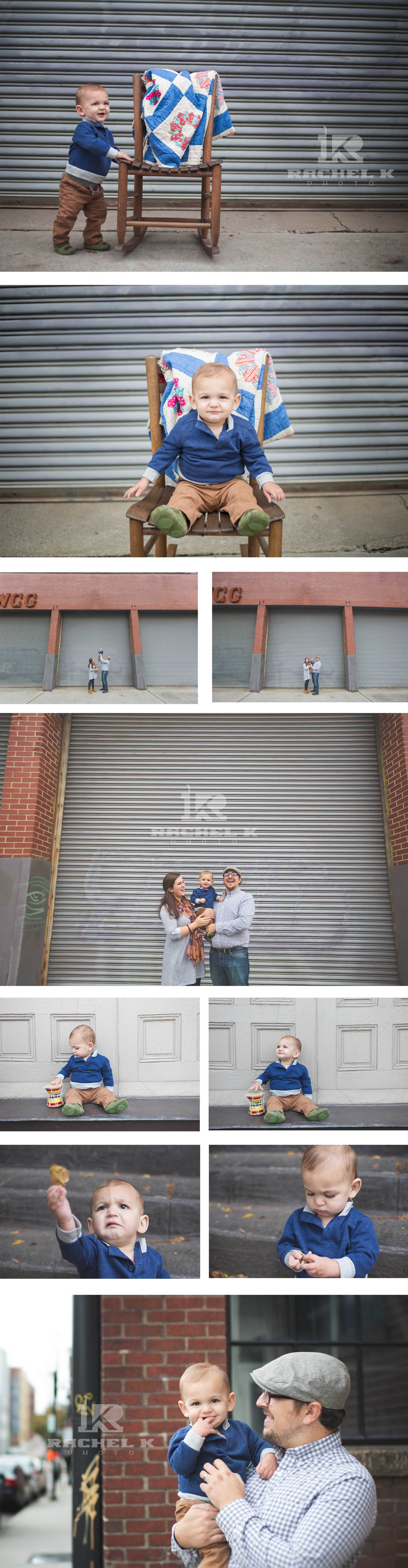 Downtown Knoxville family session