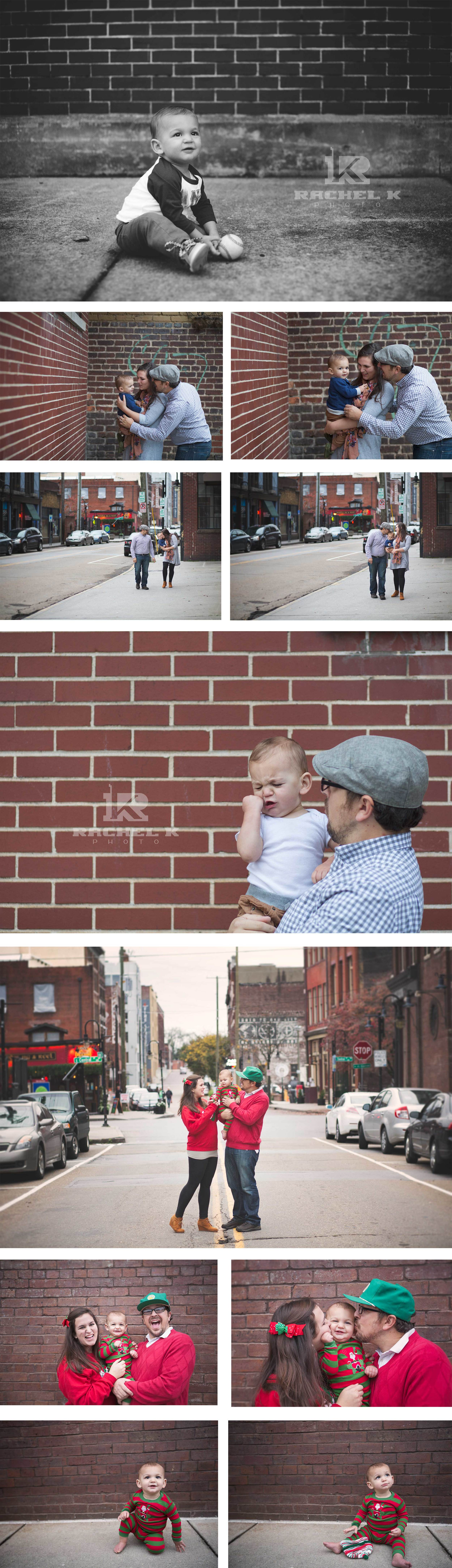 Knoxville TN downtown photo session