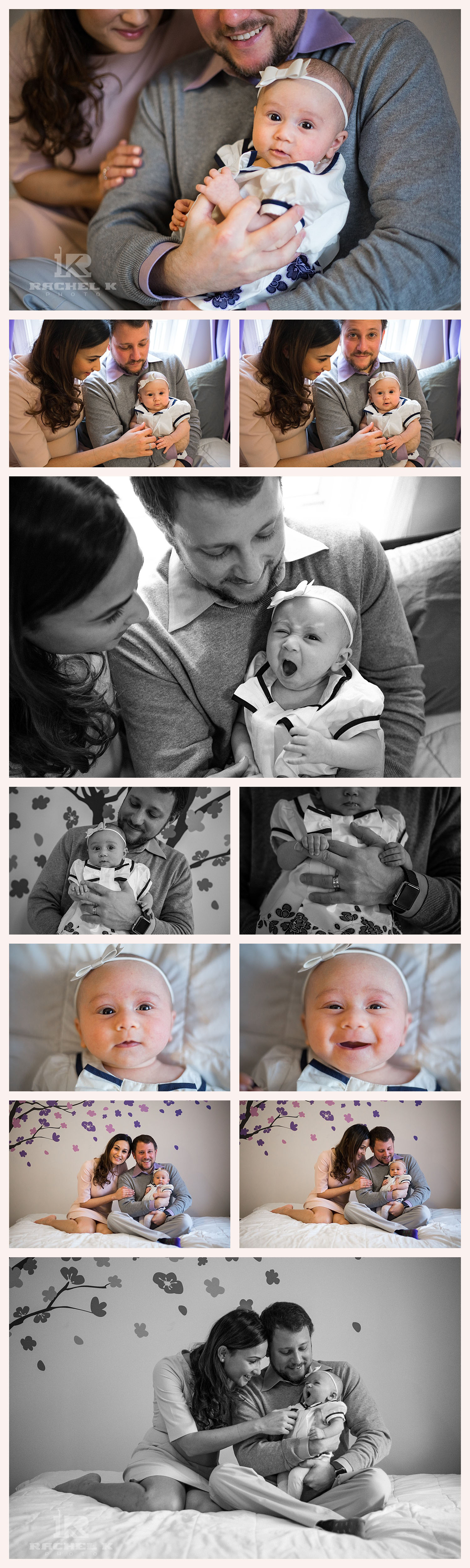 DC lifestyle newborn session by Rachel K Photo