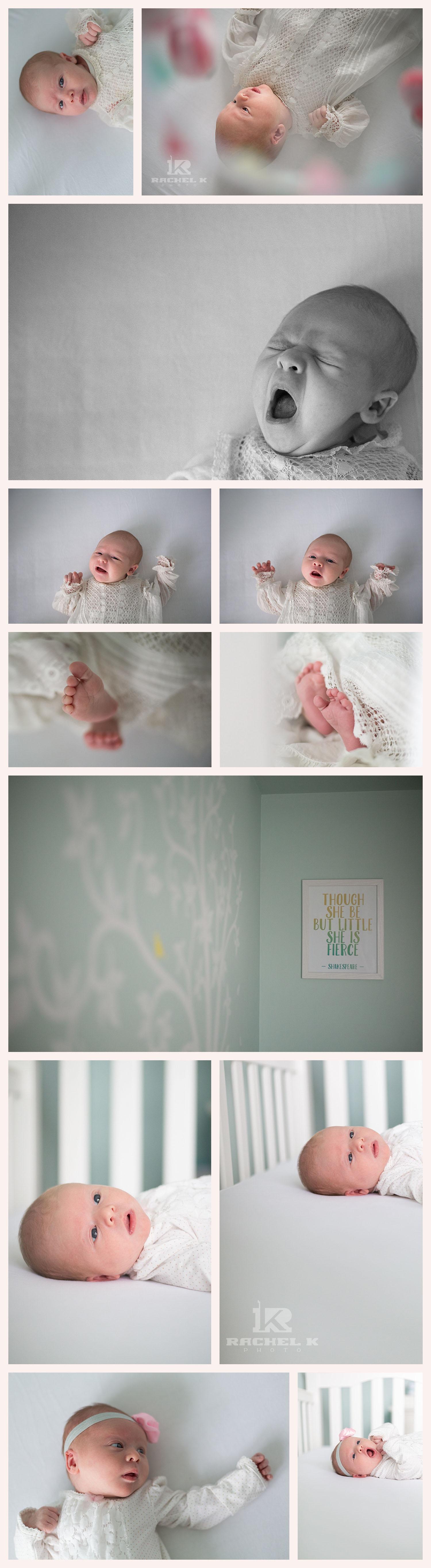 Northern Virginia newborn lifestyle session by Rachel K Photo