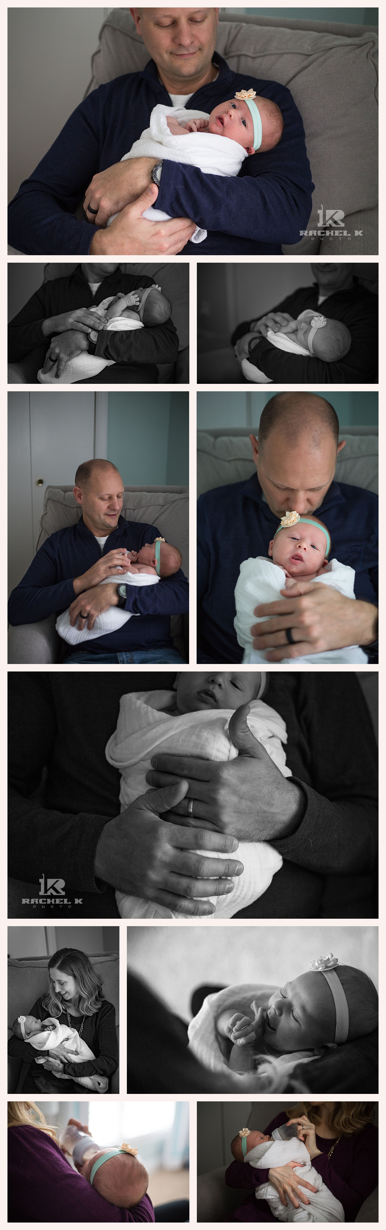 Northern Virginia's best newborn lifestyle photographer Rachel K Photo