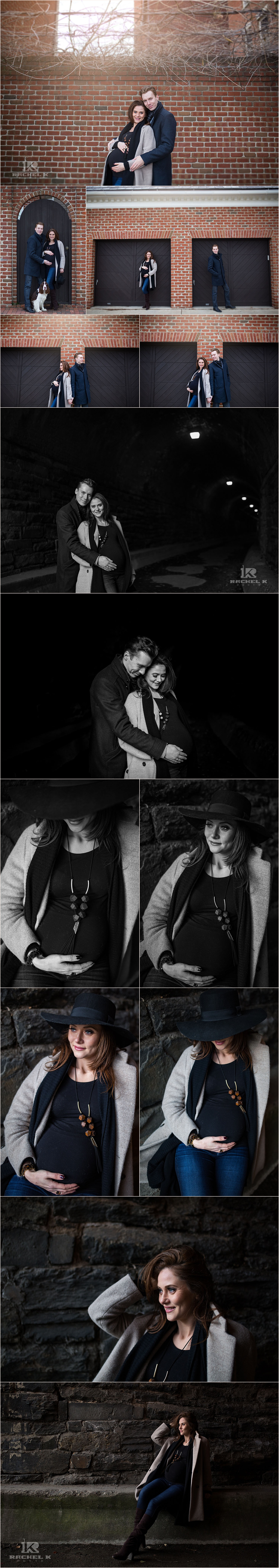 Old Town maternity session by Rachel K Photo