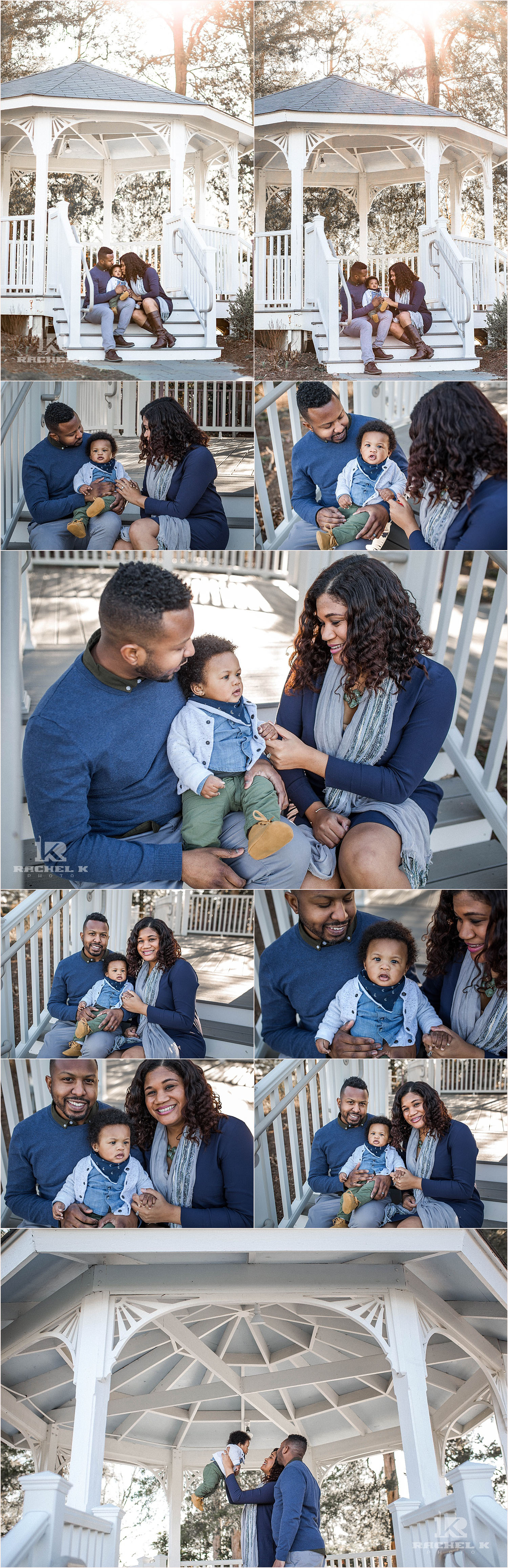 Alexandria Virginia 6 month old session