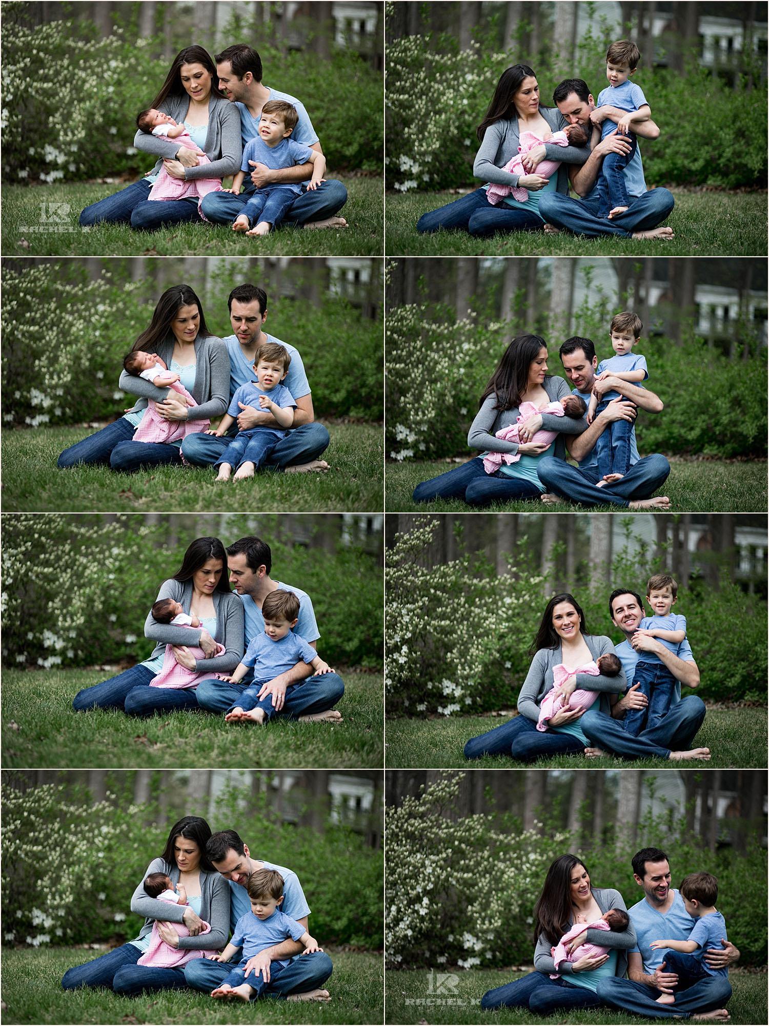 Washington DC newborn lifestyle photos by Rachel K Photo