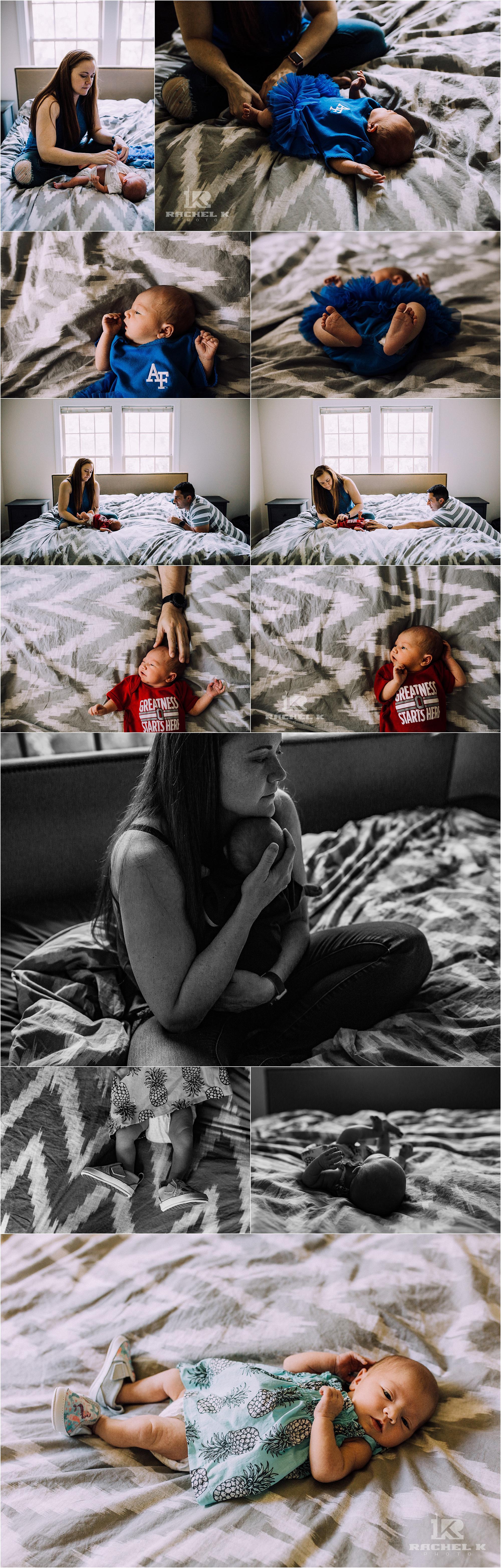 Fairfax Virginia baby girl lifestyle session by Rachel K Photo
