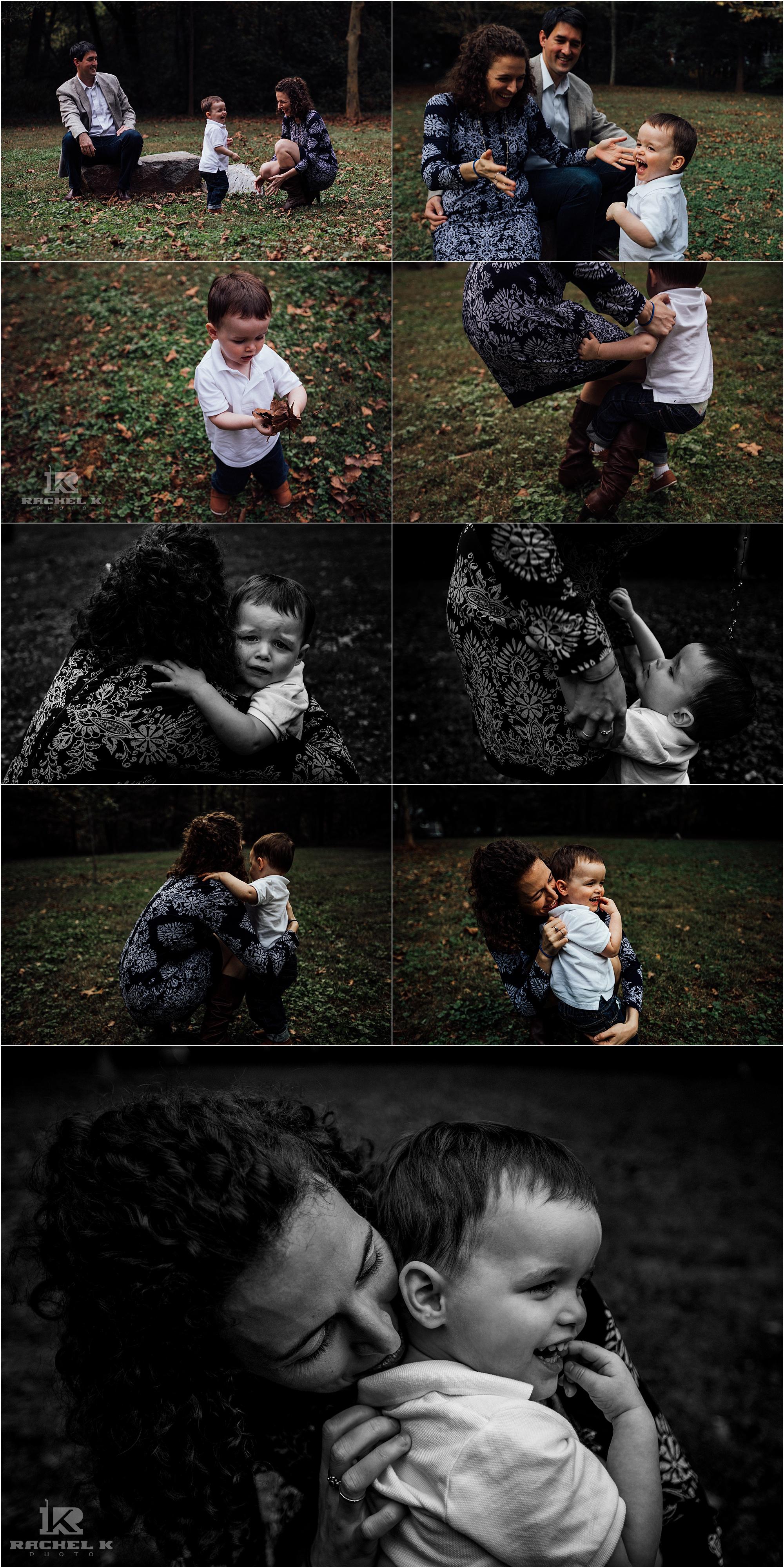 Arlington Virginia family session by Rachel K Photo