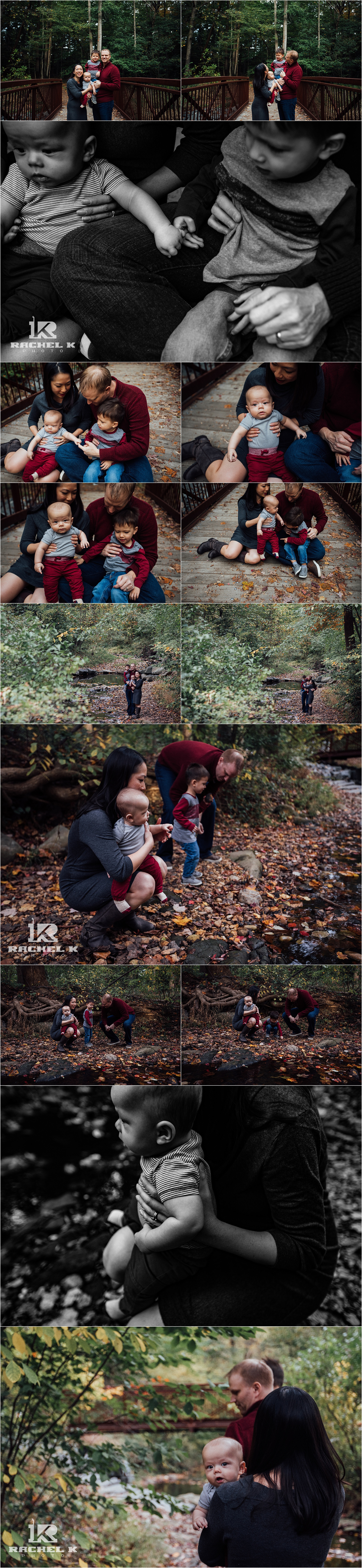 Fairfax lifestyle family session at Green Springs Gardens by Rachel K Photo