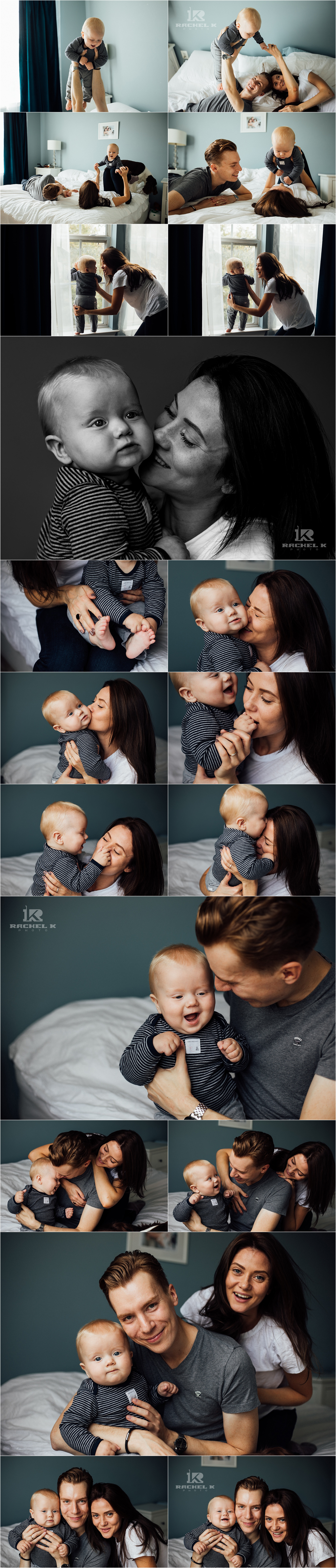 Fairfax Virginia indoor lifestyle session with 8 month old by Rachel K Photo