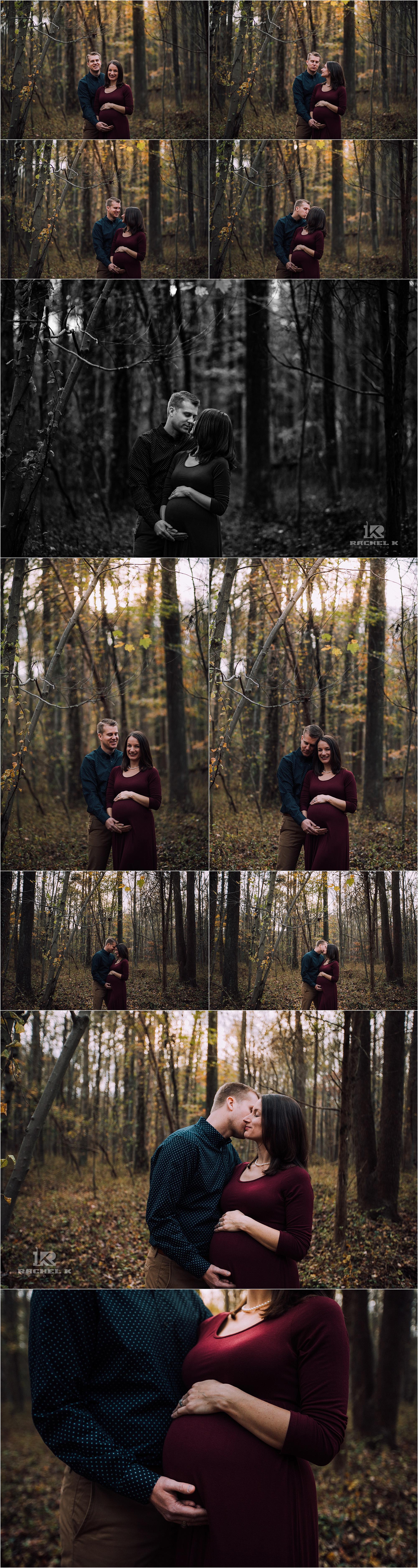 Alexandria Virginia maternity session at Huntly Meadows by Rachel K Photo