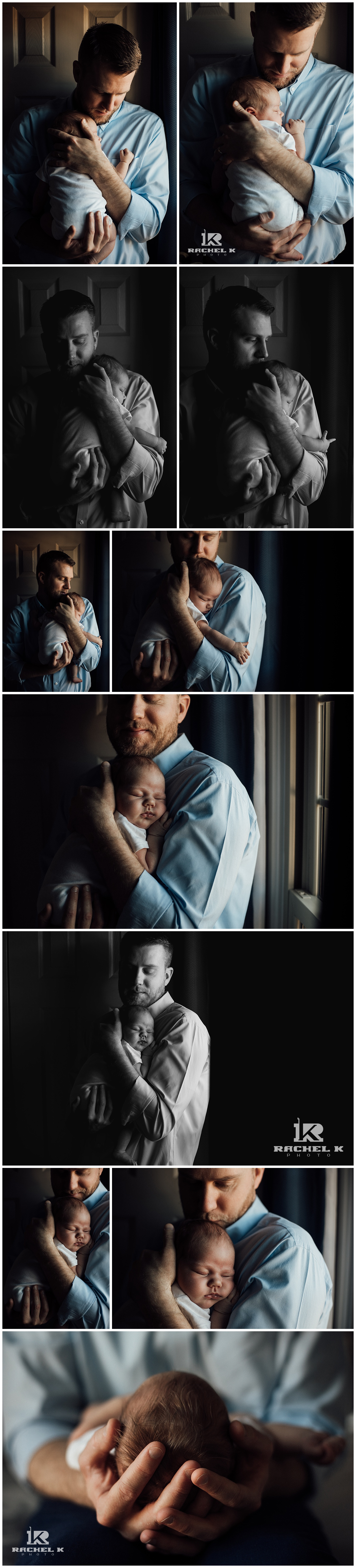 Northern Virginia baby girl lifestyle session by newborn photographer Rachel K Photo