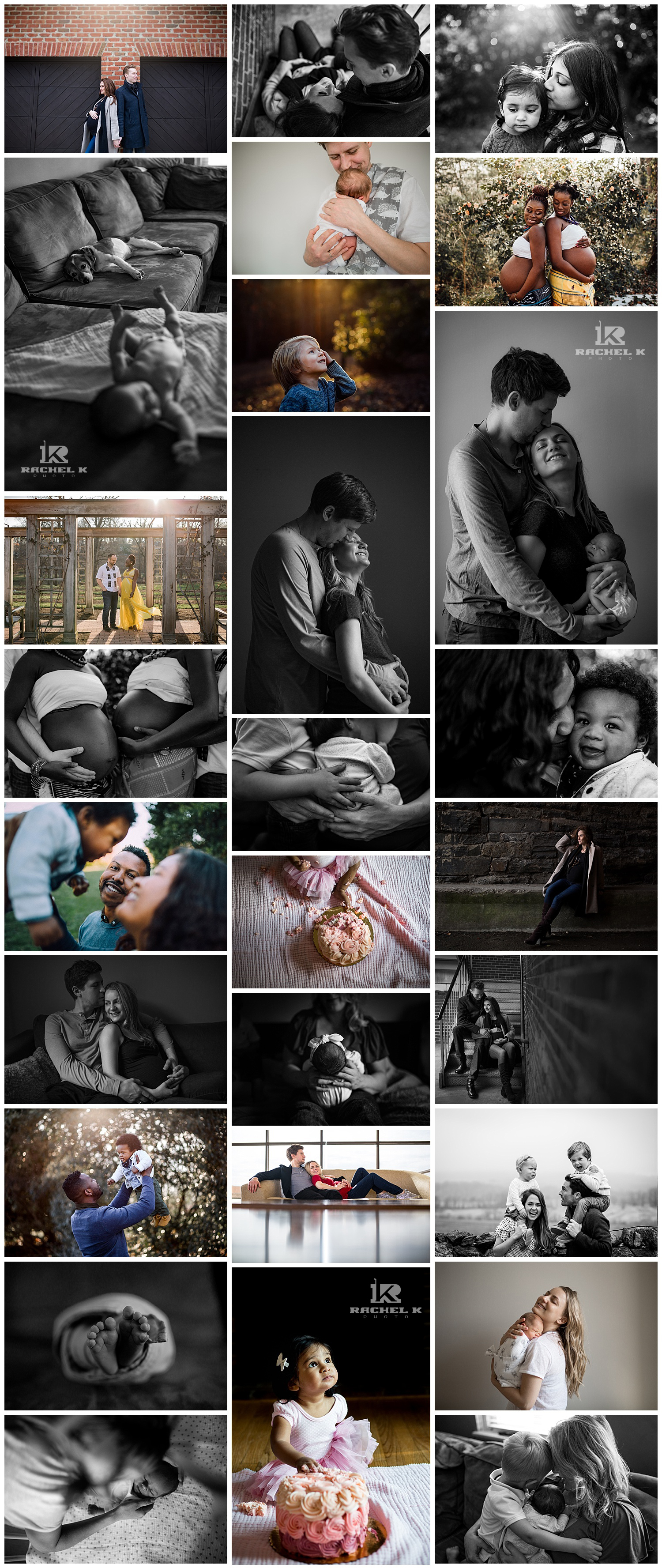 2017 favorite photos by Northern Virginia family photographer Rachel K Photo