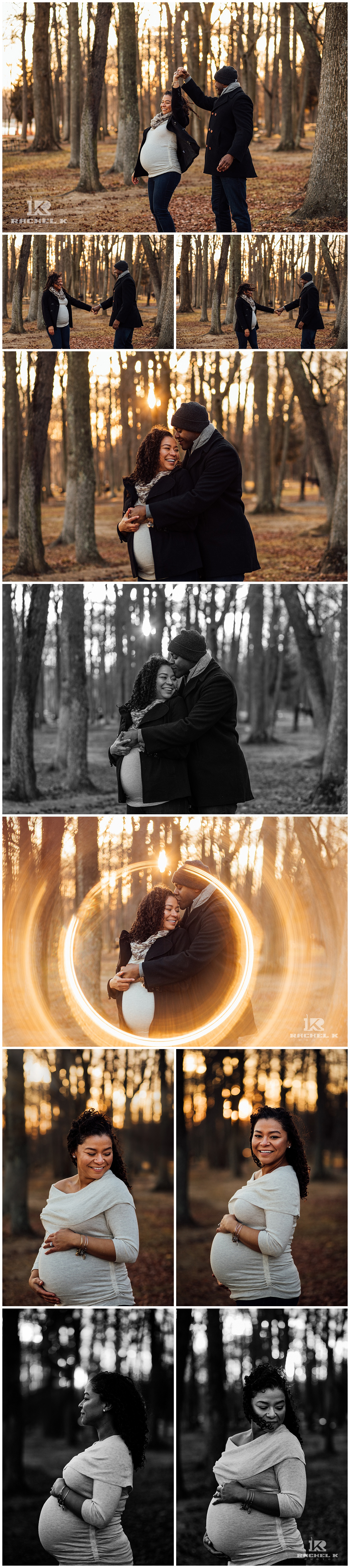 Lifestyle maternity session with emotion by Centreville photographer Rachel K Photo