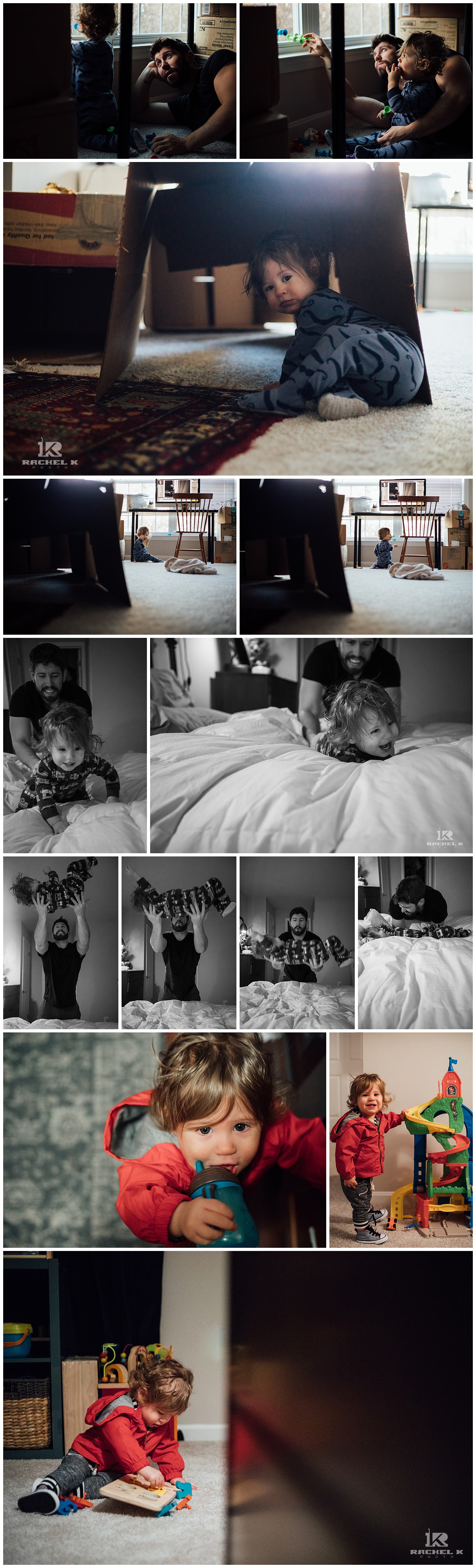 January personal photos of a toddler by Rachel K Photo