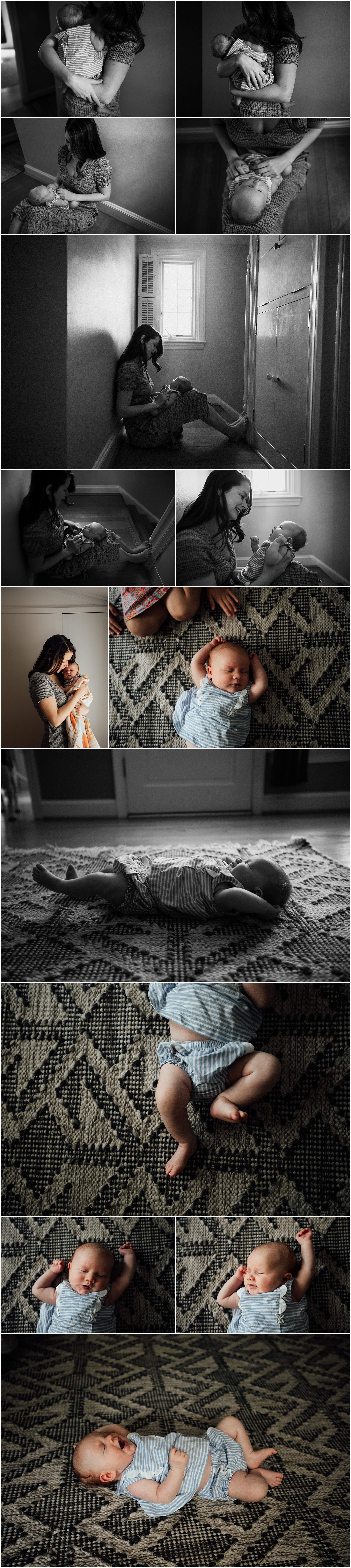 Madison and Huntsville Alabama emotive newborn lifestyle session by Rachel K Photo