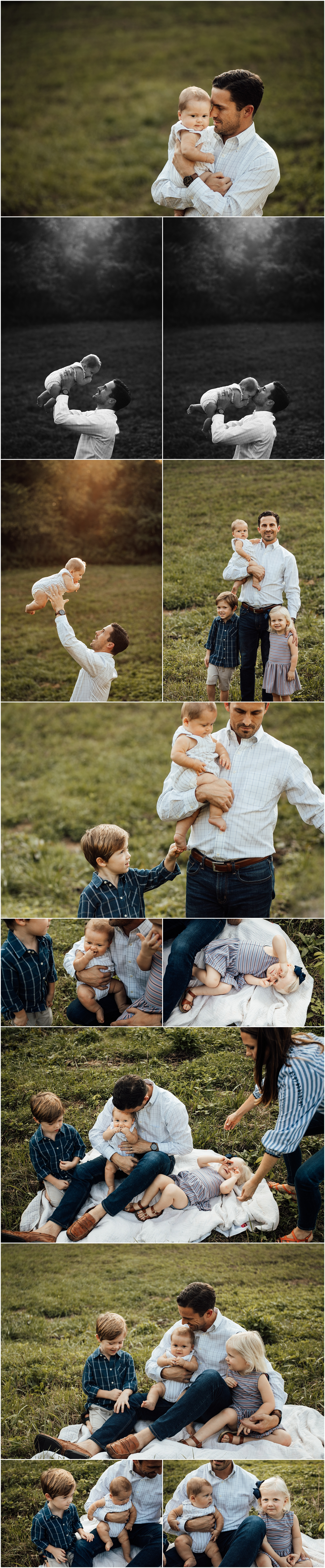 Huntsville Alabama family of 5 outdoor fall session by Rachel K Photo