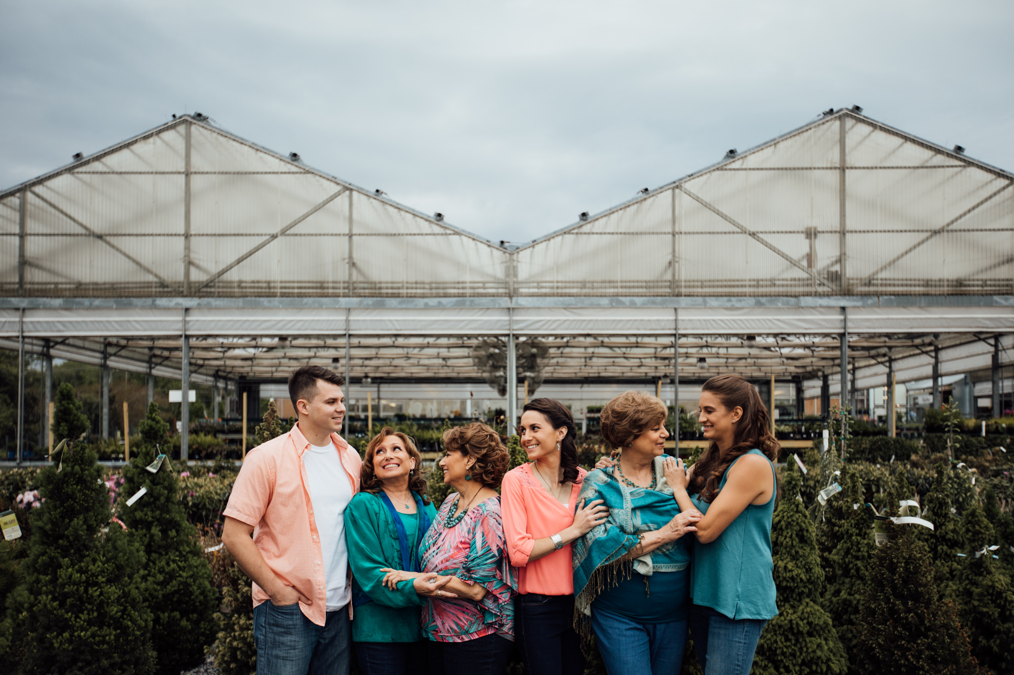 Extended family by Madison and Huntsville Alabama family photographer Rachel K Photo