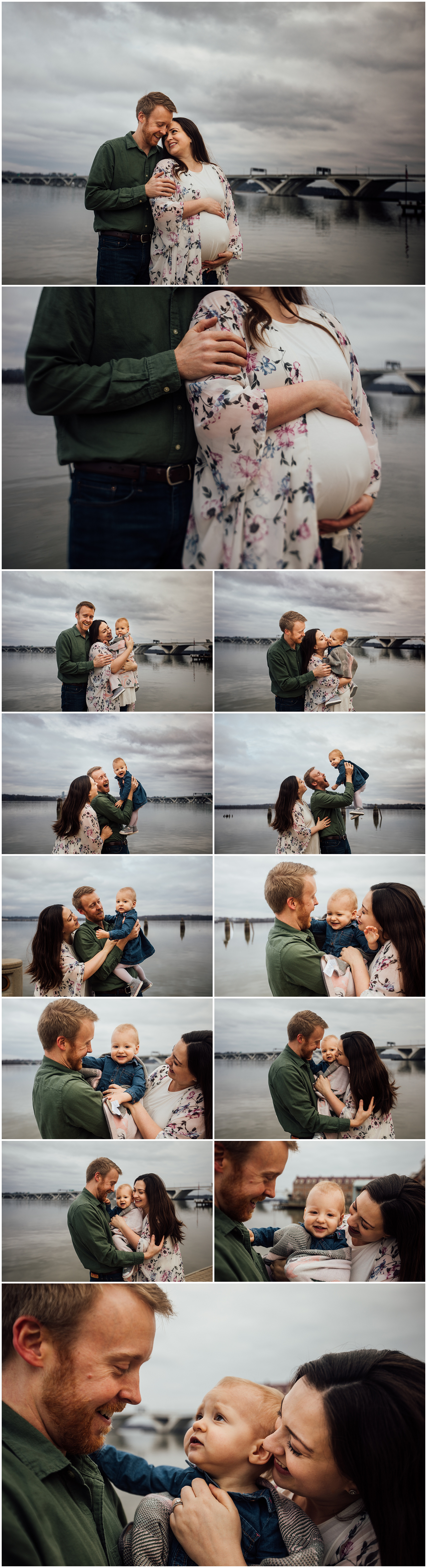 Madison and Huntsville Alabama maternity photographer with toddler session by Rachel K Photo