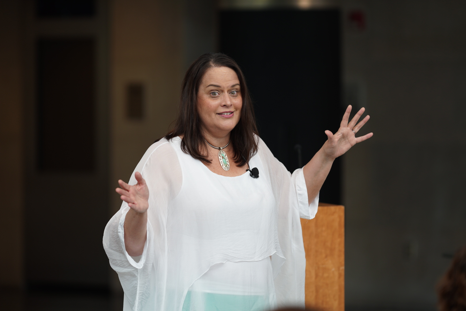Thursday workshop leader Dr. Julia Aguirre will lead a session on Friday at 9:30 about engaging families in math education.