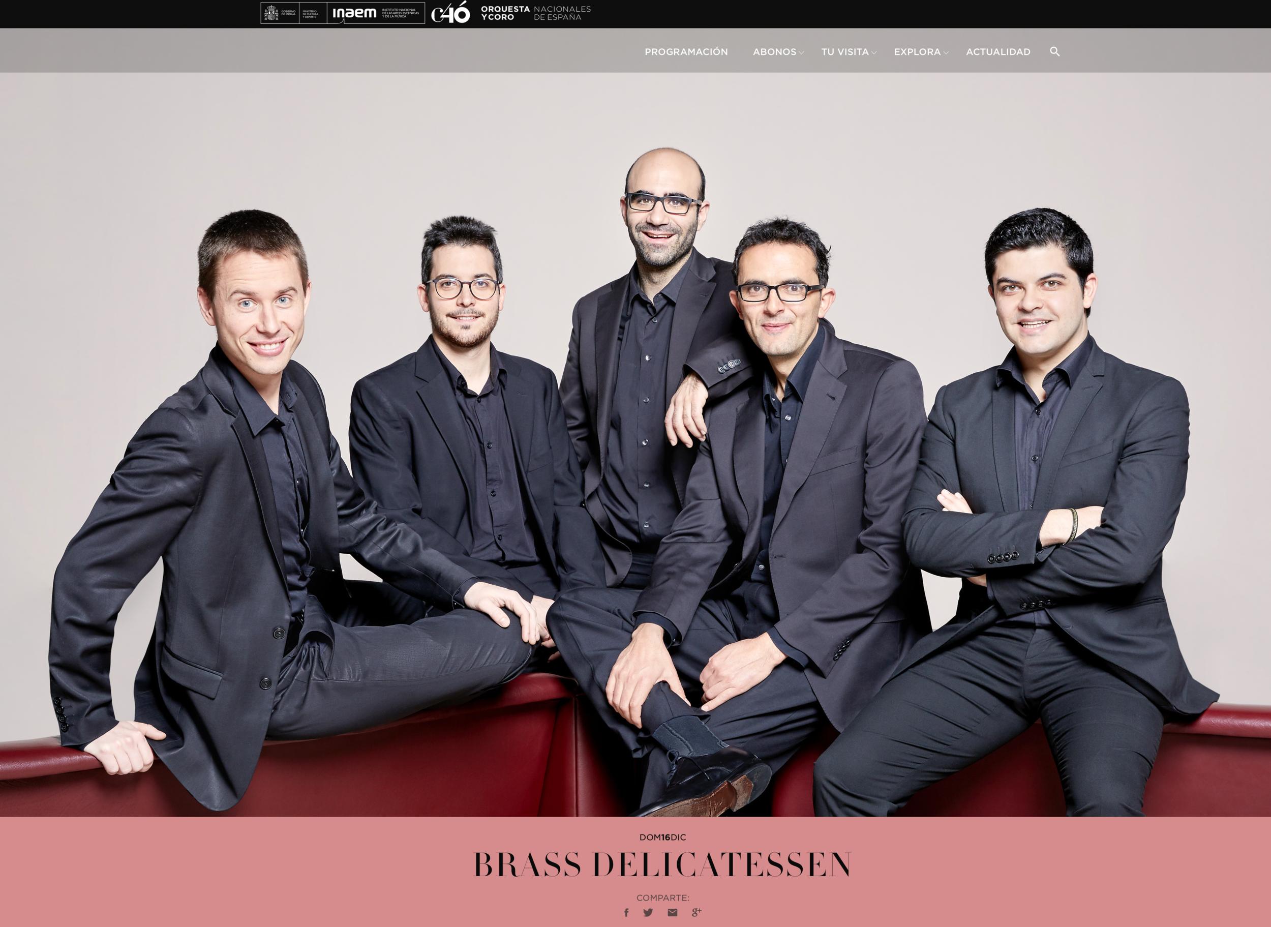 Orquesta Nacional de España - Ciclo Satélites