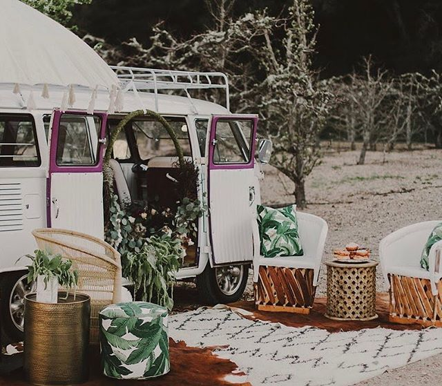 This beachy, boho photo booth lounge amongst the moody apple orchards was one for the books! Thanks for bringing us back today @lace_and_liberty! . . . Photography: @milkandthistle_  Van + Photo Booth: @slophotobus  Rentals: @avenuetwelverentals  Dress: @lace_and_liberty  Florals: @cloverandbranch  H&MU: @rubyxhair  Models: @geminicrystalgypsy @brandontrosky  Venue: @seecanyonfruitranch