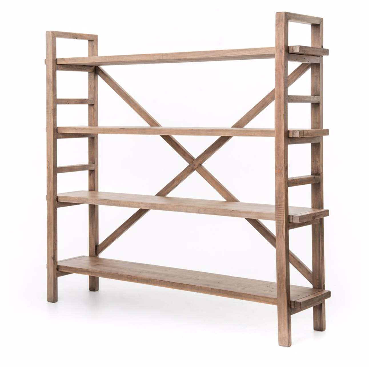 "Price: $100  Quantity: 2  Dimensions: 76.25""W x 17""D x 70.25""H  Shelf Dimensions: 16.5""H x is 67""W x 13.5""D"