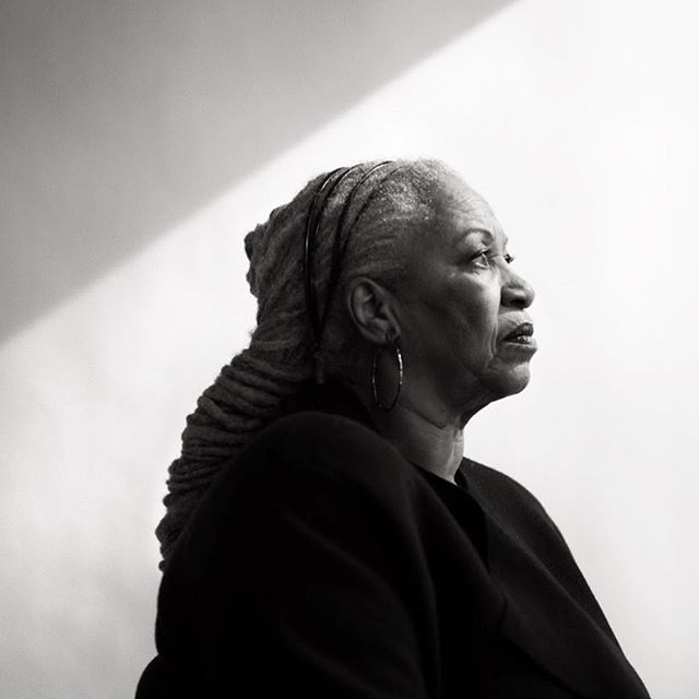 A beacon of vision. Toni Morrison  shaped the landscape of my adult life. She spoke at my graduate school graduation ceremony and I have never stopped listening to her wisdom. Her words will continue to illuminate and light our way to truth. Portrait by Damon Winter for @nytimes . . #tonimorrison #songofsolomon #beloved #thebluesteye #pulitzerprize #visionaire