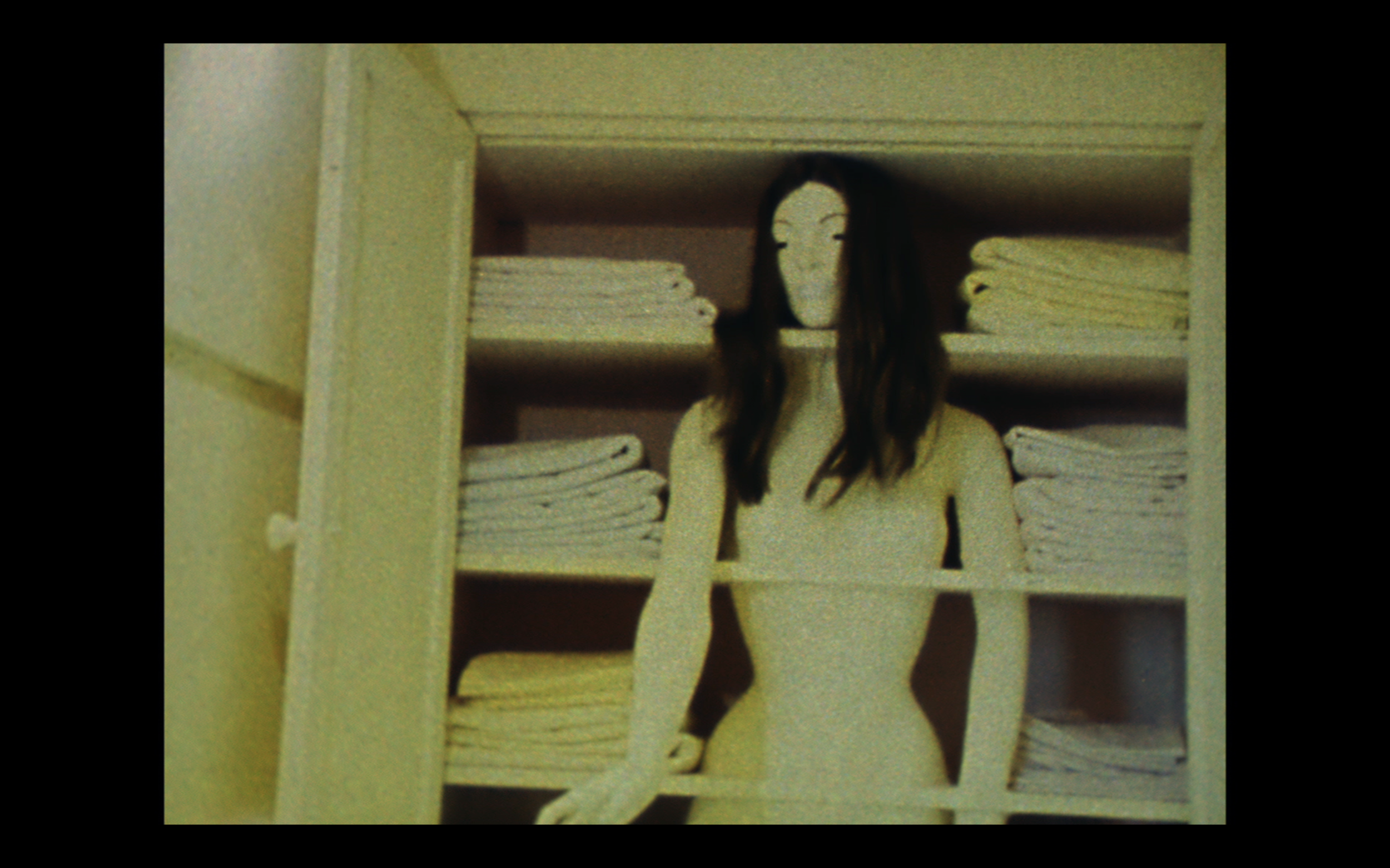 Still from: Woman's House, 1972, 13:40 min (5 min excerpt), 16mm transferred to video