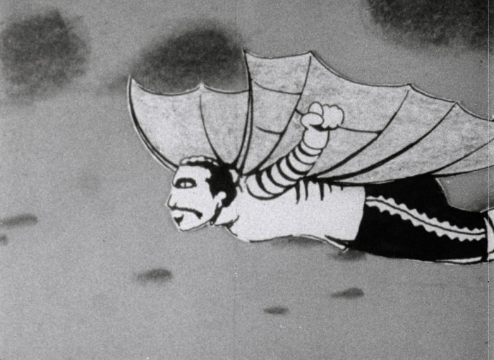 [Powdered White Wings], 16mm, 8min, 1972
