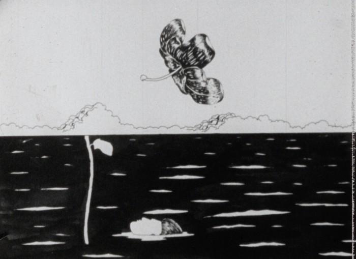 [Short Distance Runner], 16mm, 6min, 1973