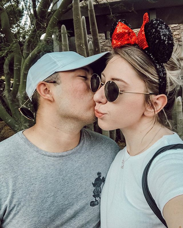 ✨ Disney couples stay together✨ Did you know I met @brittanybschreiner at DisneyLand?  #fairytail #relationshipgoals