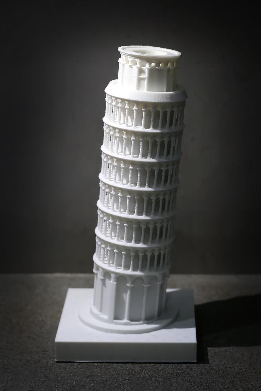 피사의 사탑  높이 23cm