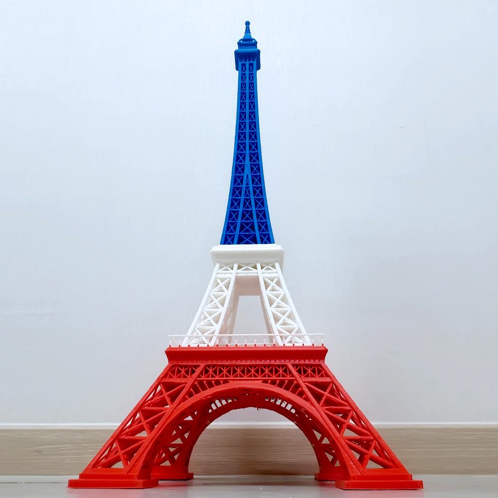 에펠탑  높이 82cm 한 번에 출력