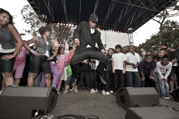 MC Hammer at Hardly Strictly Bluegrass