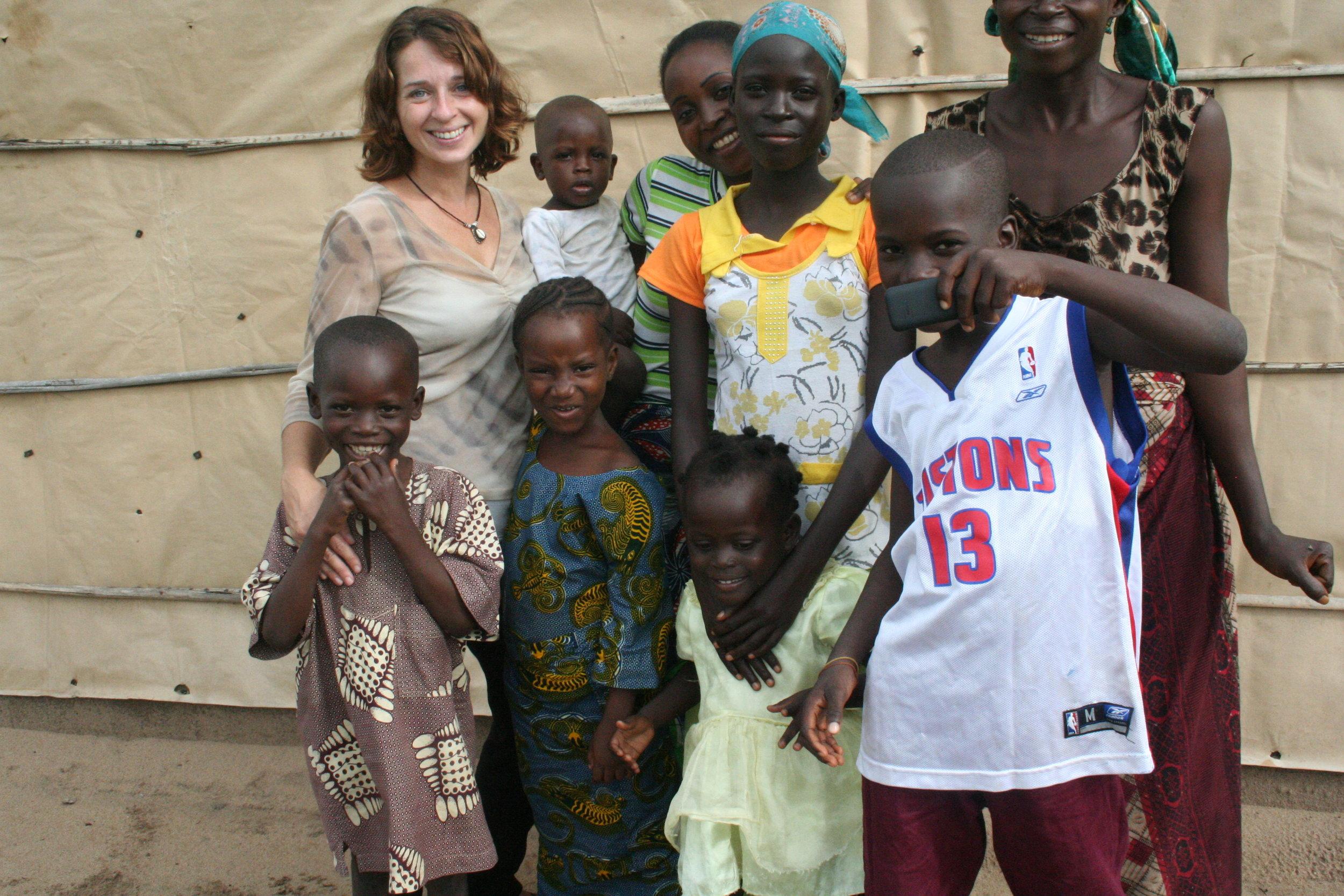 Photo taken in PK11, a neighborhood in Cotonou. Photographer: Stuart O'Neil