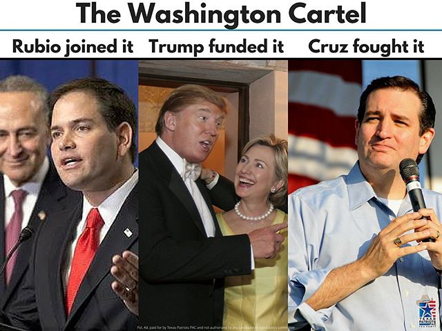 Above all the rhetoric, the choice is clear for conservatives. Ted Cruz is the only candidate who can defeat the Washington cartel. Be a part of history this Tuesday, March 1, and vote for less government and more liberty. #CruzCrew #texas #htx #dallas #supertuesday #satx #thewoodlands #tx